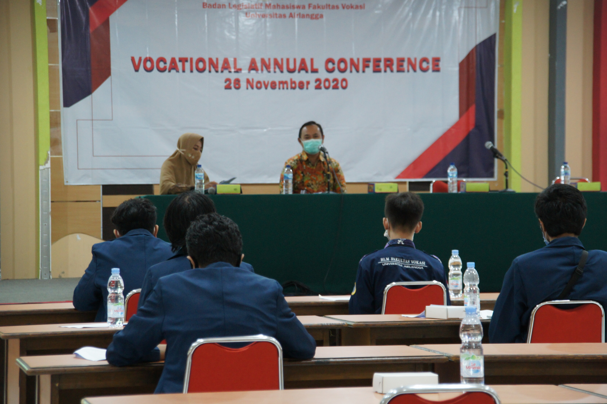 Badan Legislatif Mahasiwa Fakultas Vokasi Gelar Vocational Annual Conference