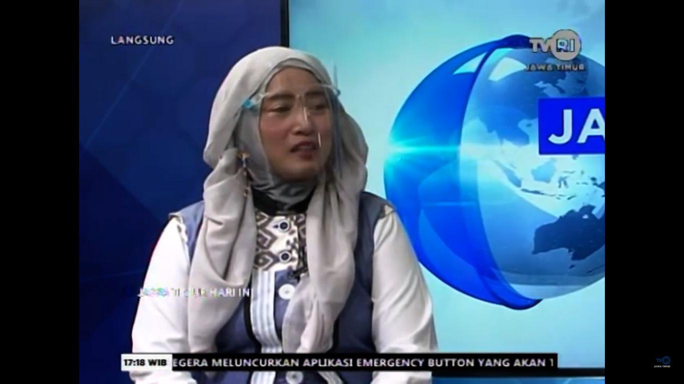 Dosen Pariwisata Fakultas Vokasi Tampil Sebagai Narasumber Dalam Diskusi Sektor Pariwisata di Era Pandemi di TVRI