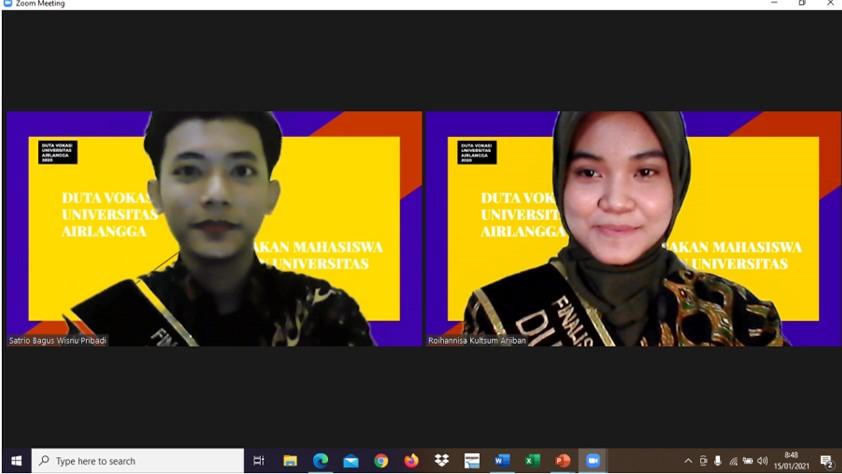 Paguyuban Duta Fakultas Vokasi UNAIR Kampanyekan  Pendidikan Vokasi  ke Siswa-Siswi Daerah