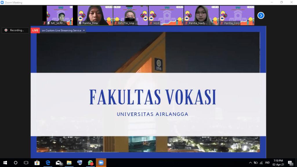 VOC 2021 : Calon Mahasiswa Baru Kenali Vokasi Lebih Dalam Lewat Vocational Goes To School