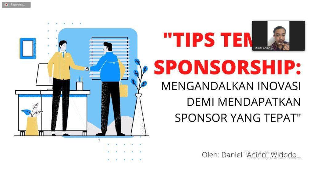 Learn Sponsorship 2021, salah satu Inovasi serta Pengetahuan yang luas dan tepat to Deal Our Partnership